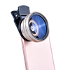 2017 Hot Sale HD Camera Cell Phone Lens 0.45X Wide Angle 12.5X Macro Lens Kit for iPhone Most Smartphones