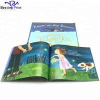 Cheap Custom Offset Printing Comic Illustrated Book For Kids