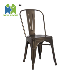 (HAGUPIT) Wholesale Restaurant Best Outdoor Chair Vintage Metal Dining Chair