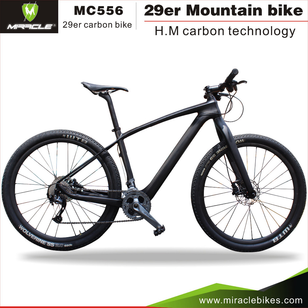 2016 MIRACLE bicycle parts complete bike new super light carbon bike with best groupset