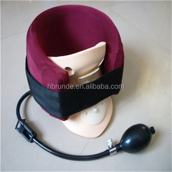surgical air pump neck traction collar
