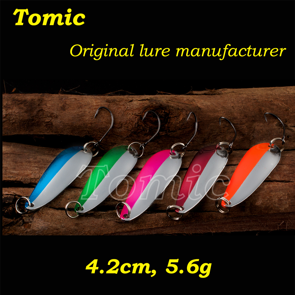 Trolling fishing spoons metal spoon spinner baits ultra light lures