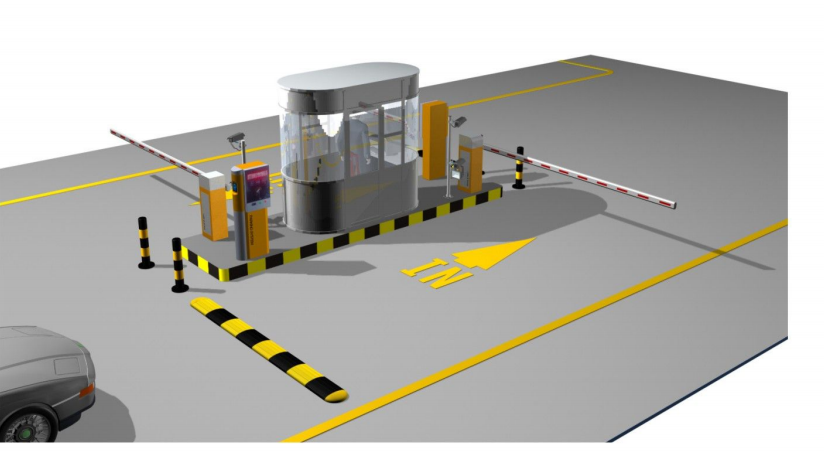 Smart Electronic Rfid Vehicle Access Control Parking