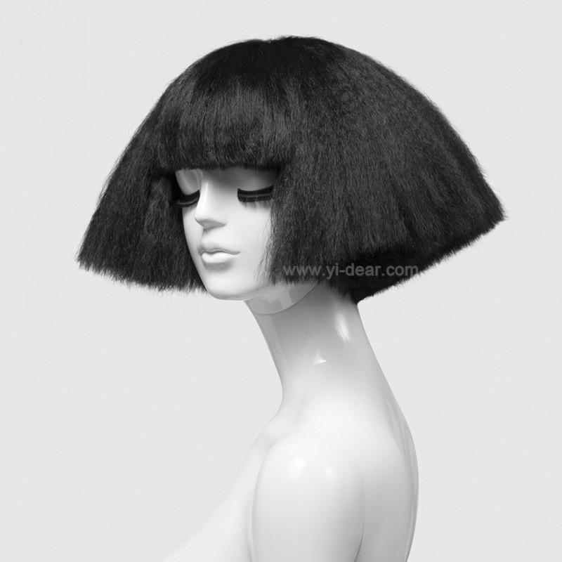 Mujeres de pelo corto negro