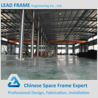 Free Design Prefab Steel Structure Warehouse For Wood