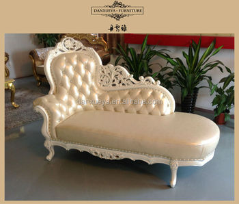 Surprising Beautiful White Leather Wood Carving Baroque Chaise Lounge Sofa Buy Leather Sofa With Wood Carving Antique Fabric Chaise Lounge Sofa Chaise Recliner Ibusinesslaw Wood Chair Design Ideas Ibusinesslaworg