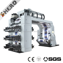 GYT6-1300 2017 TALSEN Two colors flexo printing machine/digital flexo printing press