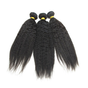 Thick Bottom Hair Weaving Unprocessed 100% crochet braids with human hair weave for black woman