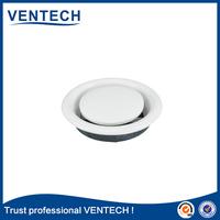 HVAC air ventilation metal disc round cap air vent duct valve