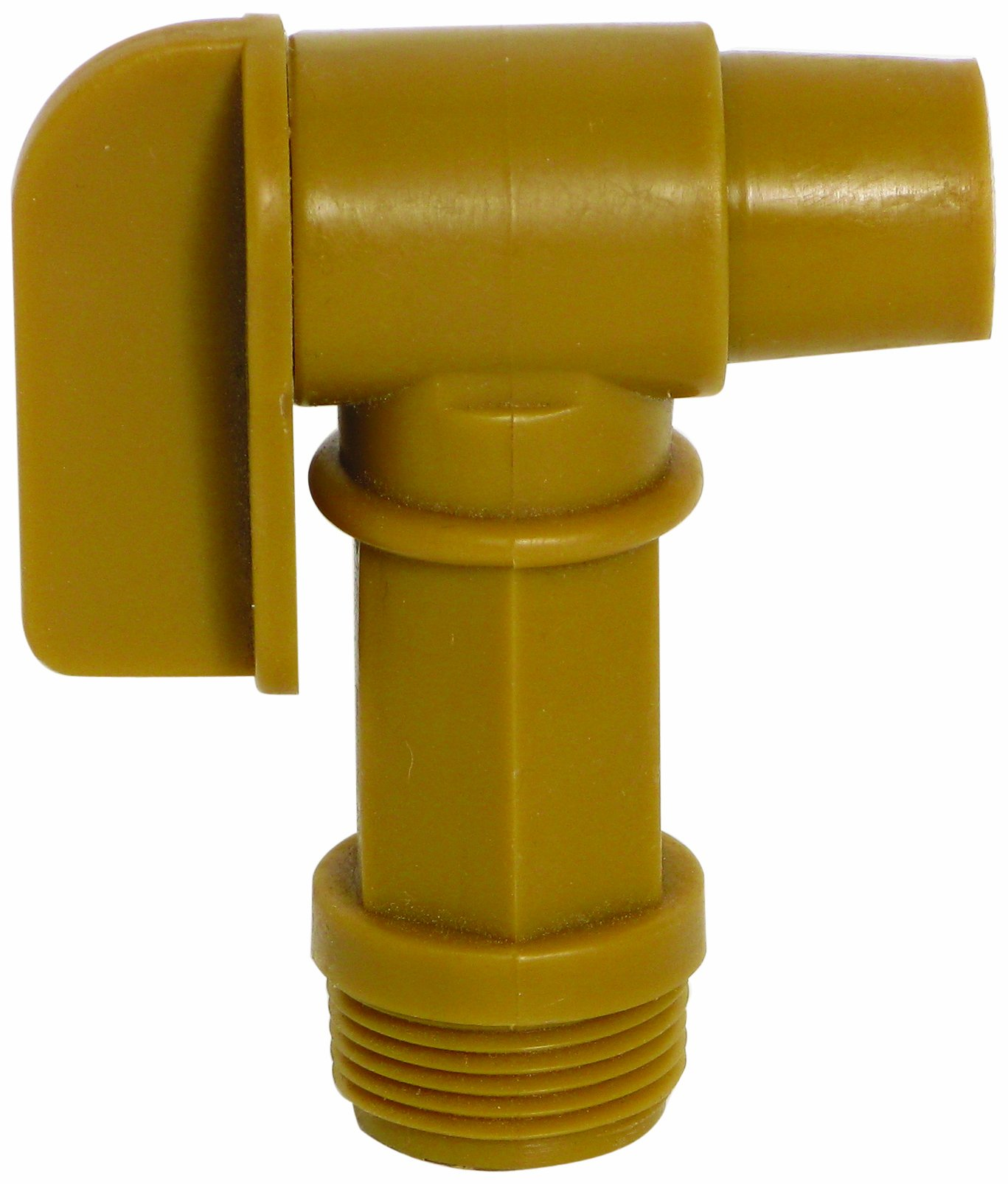 "Wesco 272177 Polyethylene Drum Faucet, 0.75"" Size"