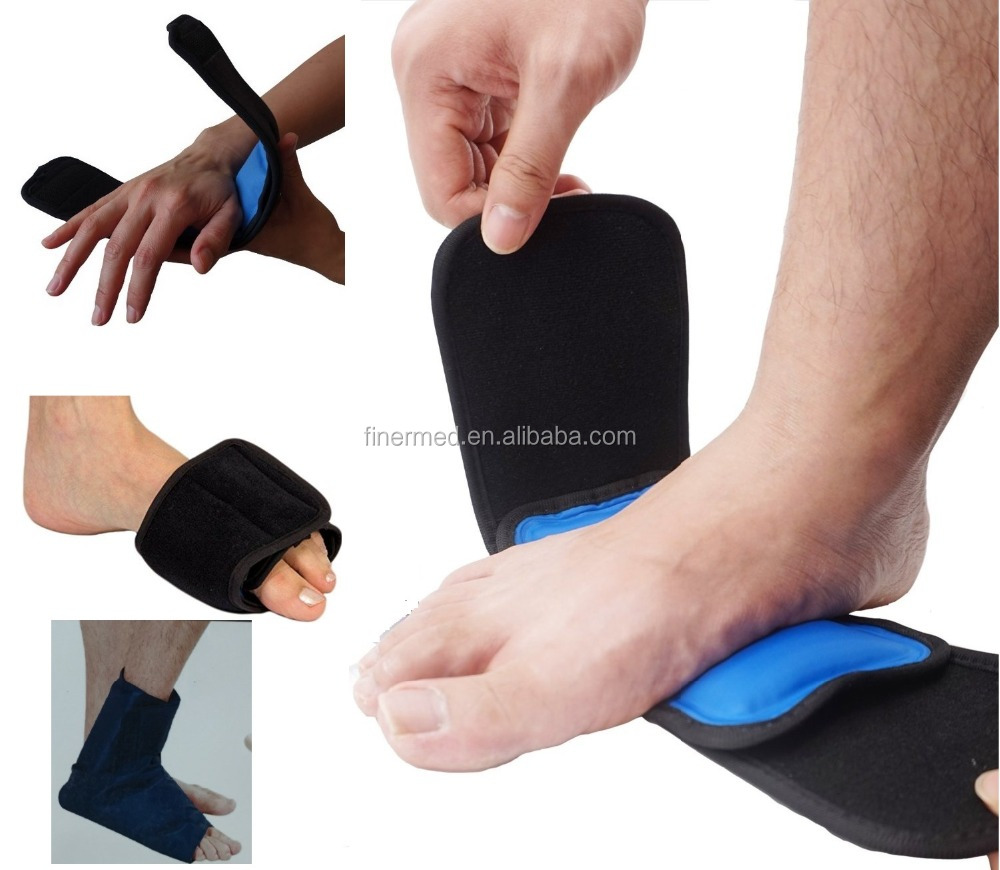 Hand foot wrist elbow physical therapy Cold hot pack