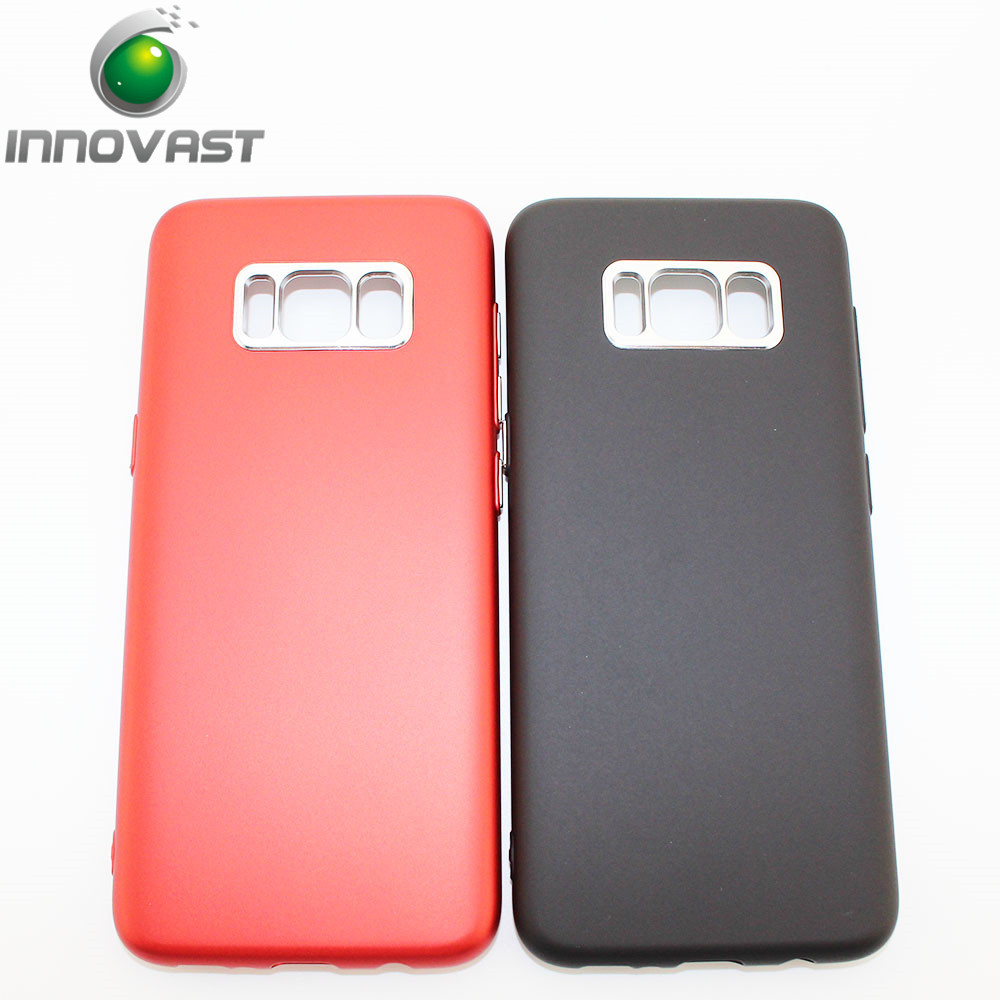 Anti dusty fingerprint Cover tpu Phone Case for Samsung Galaxy s8