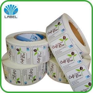 Fits for daily product shampoo rolled adhesive packaging sticker label