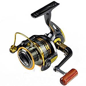 Fertile Fishing Gold Color 1000-7000 Spinning Fishing Reels Bearings 11 Mix Drag Force 4-7kg Front Drag Spinning Reel Pre Loading Spinning Wheel