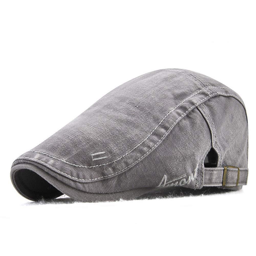Get Quotations · Funme Men Vintage Cotton Duckbill Newsboy Caps Hat 1c47d473a73d