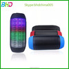 Pulse cheap Bluetooth Speaker made in China Portable wireless car subwoofer LED Lights USB Music Player Outdoor Sound Box