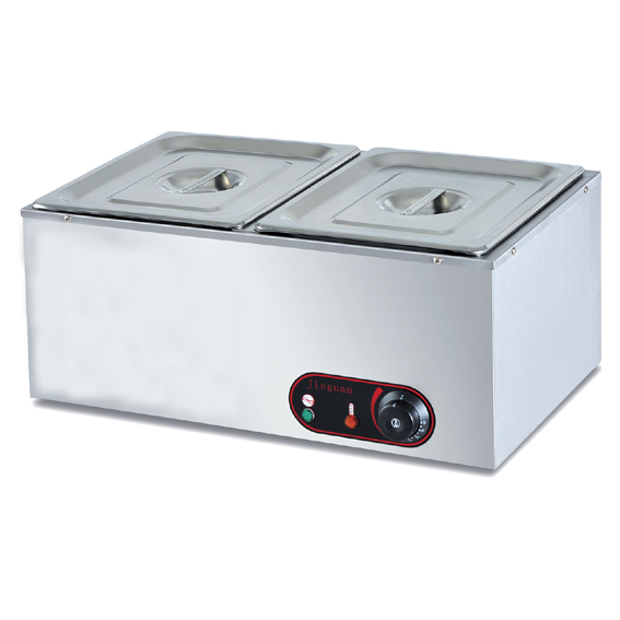 Electric Bain Marie with two pans, Electric 2-Pan Bain Marie food warmer