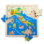 Topbright wooden wholesale world map china game puzzle toys