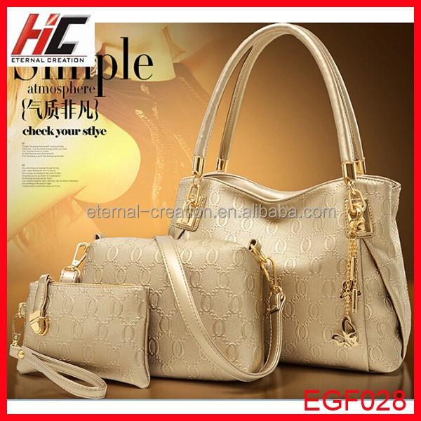 3 In 1 Lastest Popular Style Girls Handbag Hong Kong Handbags ...