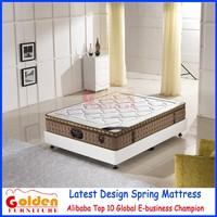ML2014-12 Foshan mattress manufacturer pillow top double bed mattress