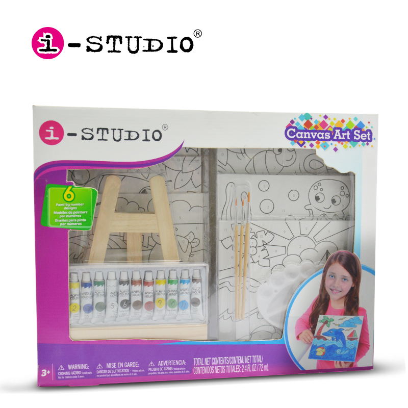 213pcs Professional Drawing Painting Wooden Kit Coloring Art Set For Kids adult