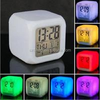 DIHAO luminous hands alarm clock ,H0T123 alarm clocks multiple settings , radio alarm clock