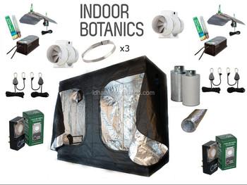 2.4m 240x120x200 Grow Tent Kit - 2 x 600W Light kit Hydroponics & 2.4m 240x120x200 Grow Tent Kit - 2 X 600w Light Kit Hydroponics ...