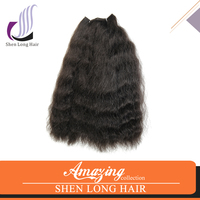 Best Selling Items Synthetic Fiber Hair Extension Natural Wave Hair