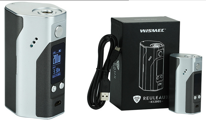TOPCHANCES 200W High Power Output wismec reuleaux rx200s with new color
