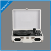 Hot-sell suitcase style multiple vinyl record player with built in speaker