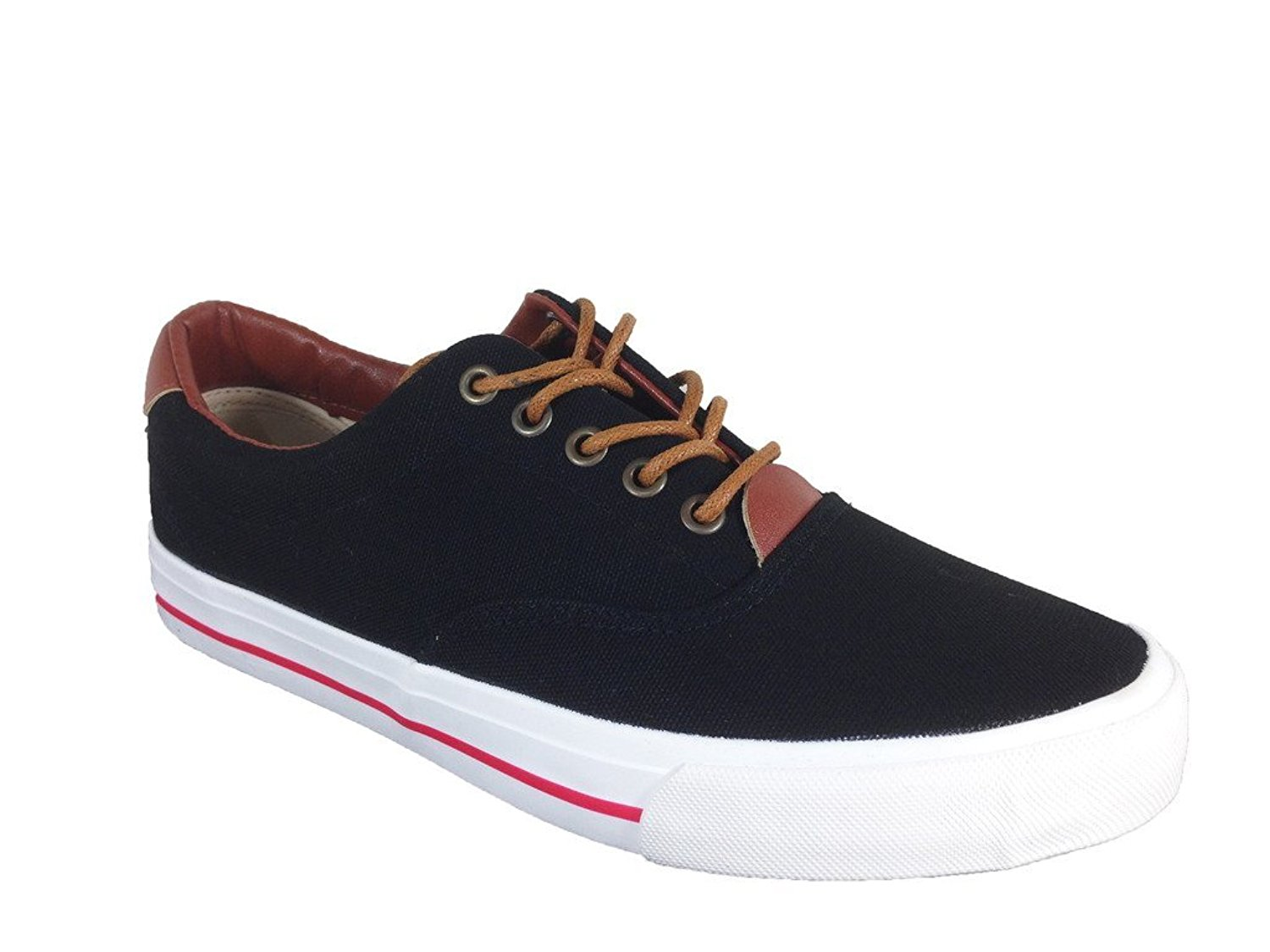 Get Quotations · Hover Men s Fashion Classic Canvas Lace Up Oxfords Sneaker 80e33768478