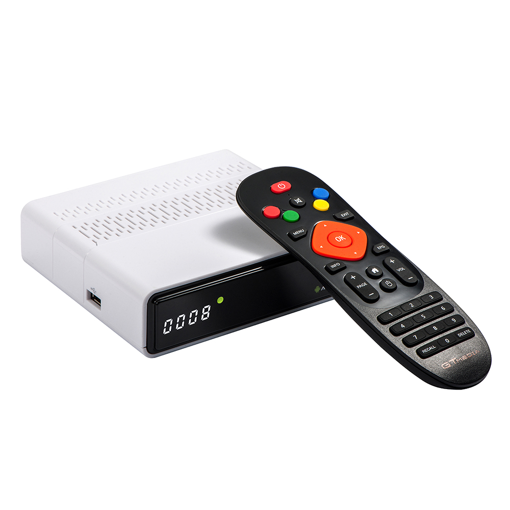 DVB-S2 GTMedia GTS Android TV BOX HD Satellite Receiver Free to Air Decoder Support BT 4.0 фото