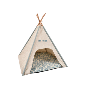 Luxury Wood Dog Puppy Bed Cat Pet Tent Bed,Pet Tent