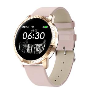 Image of 2019 Fitness Tracker Sports Bracelet CF18 Heart Rate Blood pressure Monitor Bluetooth IP67 Waterproof Lady Smart Watch