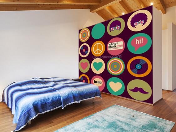 retro tapete werbeaktion shop f r werbeaktion retro tapete bei. Black Bedroom Furniture Sets. Home Design Ideas