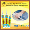 Neutral High Viscosity Silicone Sealant For Kitchen And Bathroom