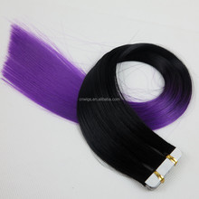 Hotsales synthetic hair feather extensions wholesale