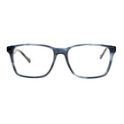 2019 Fashionable Square Shape Crystal Reading Glasses with Black Temple
