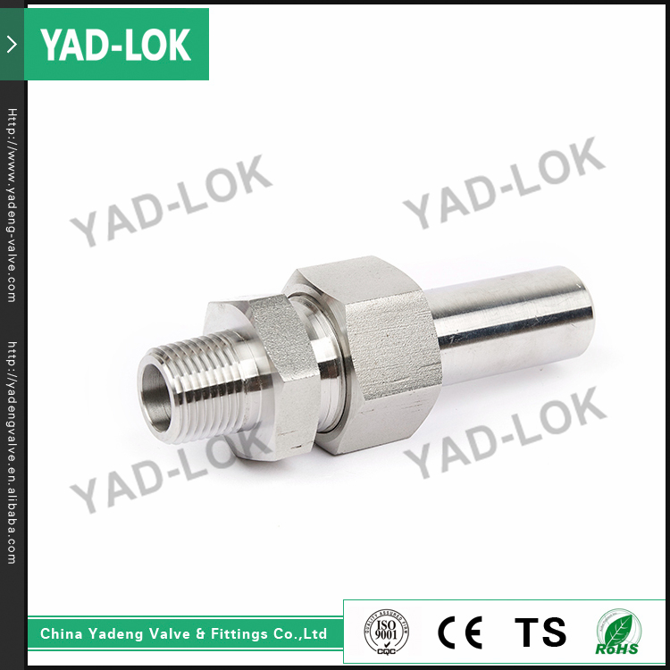 YAD-LOK SS316L Carbon Steel Straight Joint Female Threaded Pipe Fittings Nipple