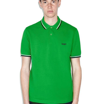 Office Uniform Designs 2018 Green Custom Embroidered Polo Youth