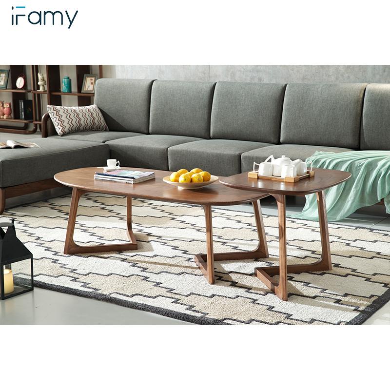 Living Room Furniture Set Ready Made Designer Wood Tea Table Coffee Modern Tv For Wooden End