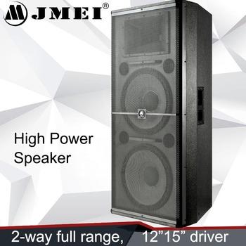 Dual 15 Inch Speaker/ Creative Cabinet Design Branded 4 Ohm ...