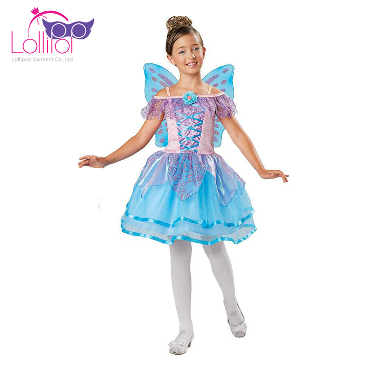 New design customized cheap carnival costumes childrens fancy dress outfits