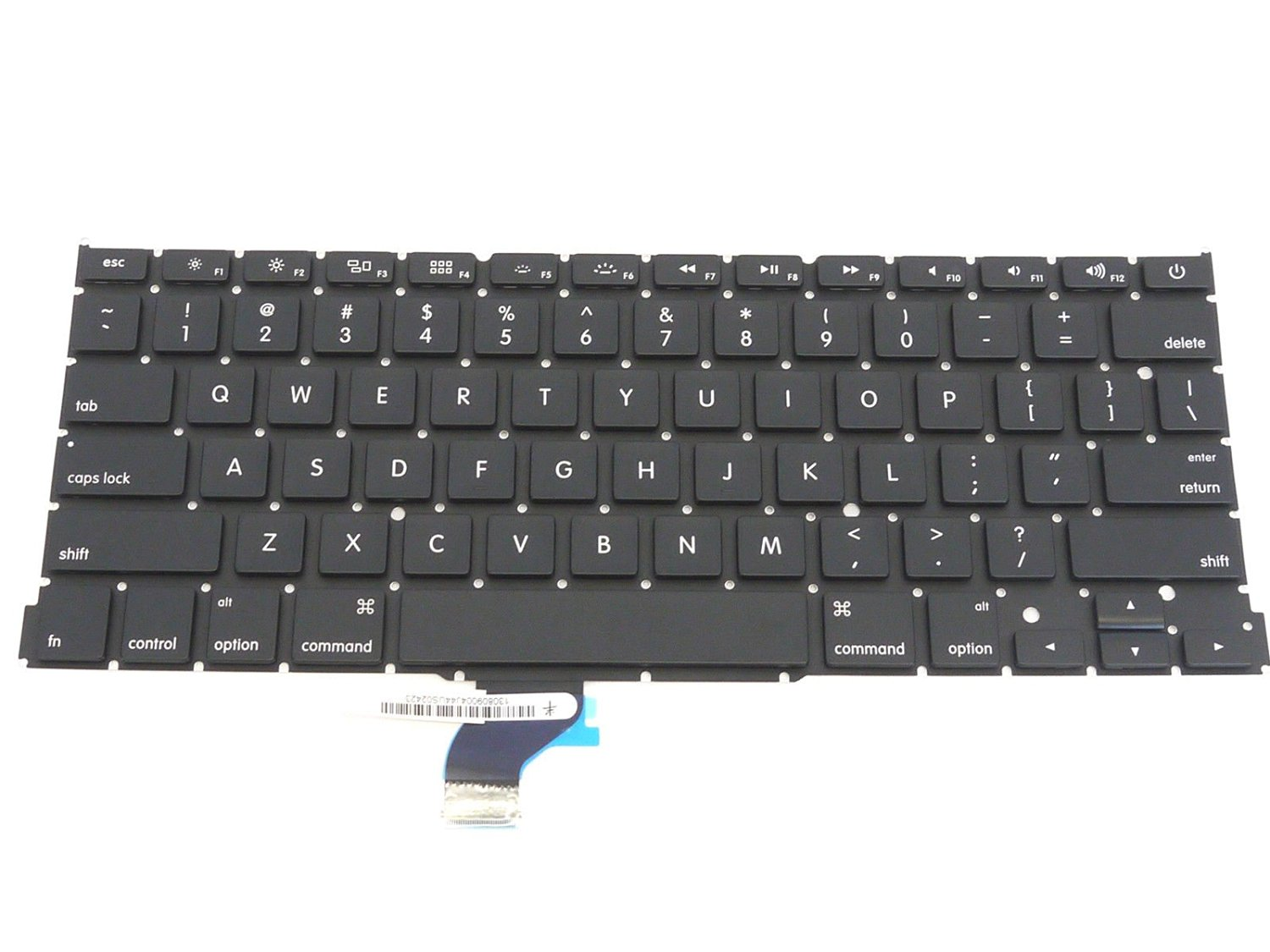 "SEENIGHT® NEW US Keyboard without Backlight for Apple MacBook Pro 13"" A1502 2013 Retina ME864LL ME866LL"