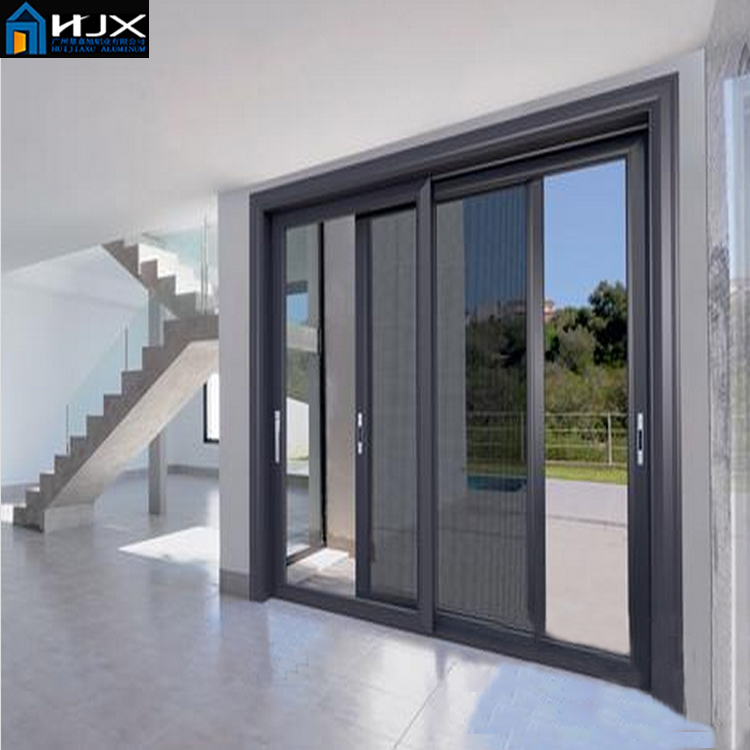 Manufacturers Gz China Aluminum Sliding Door Paint Glass
