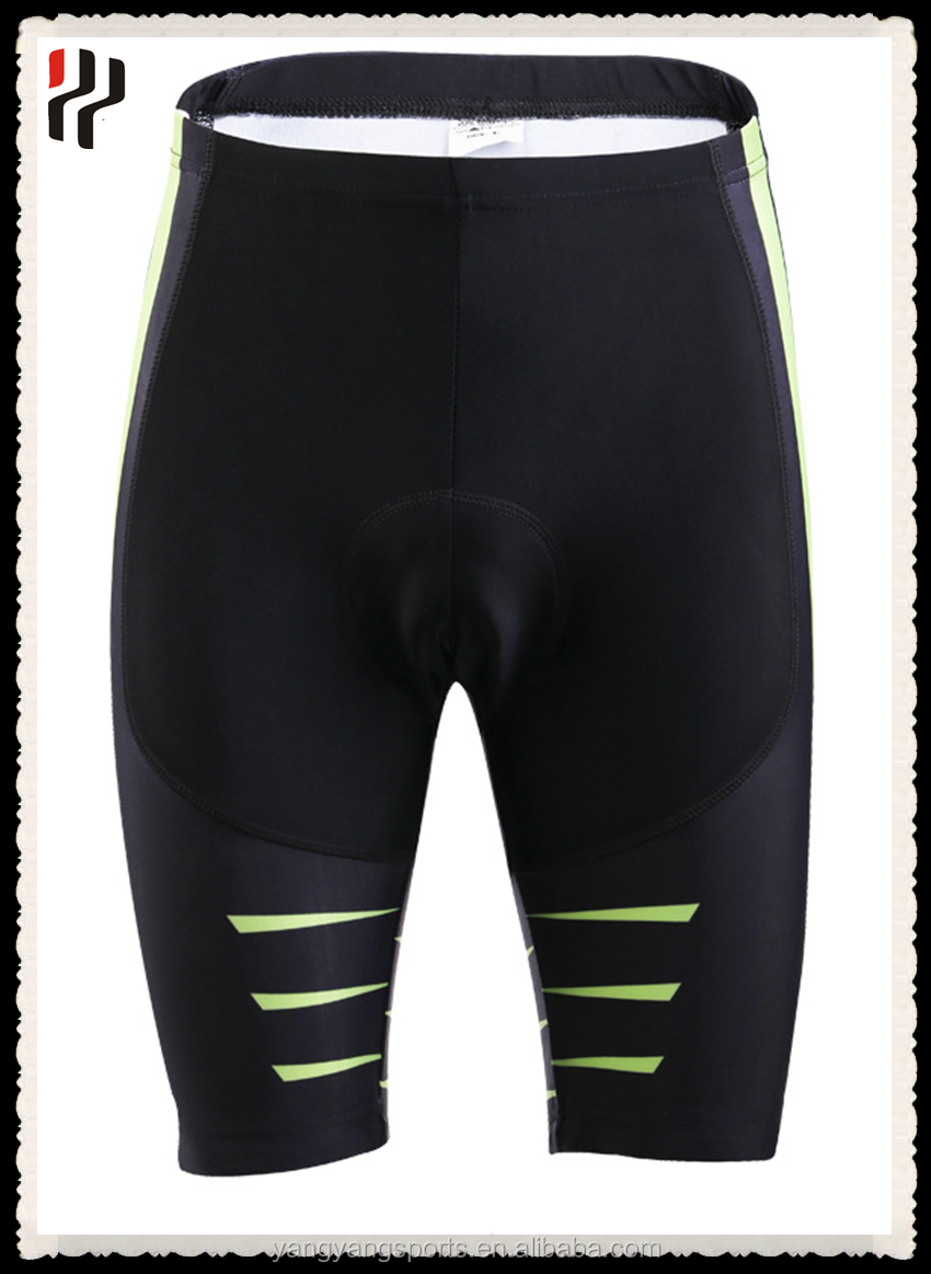 Green black free design wholesale <strong>cycling</strong> short pad