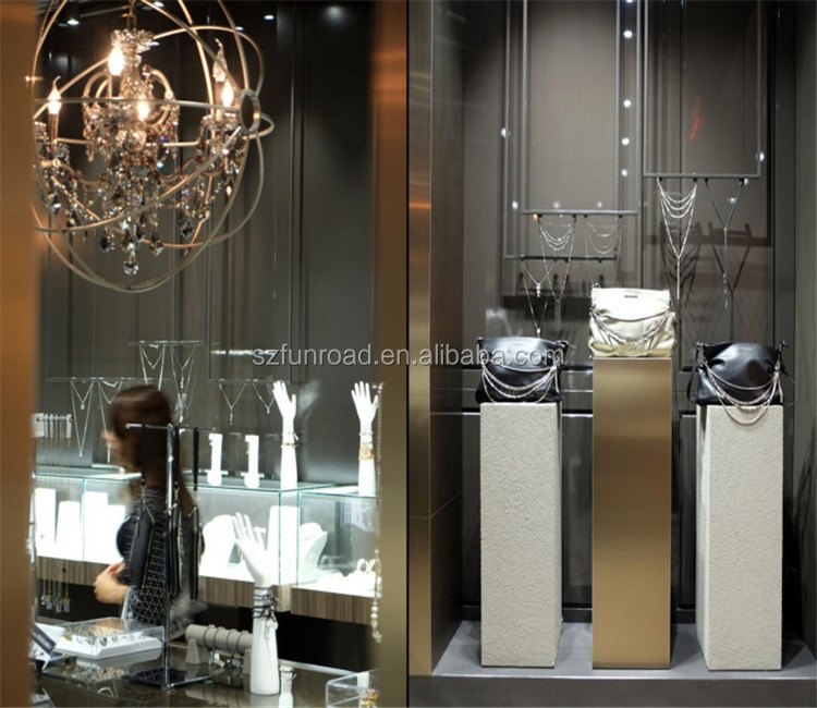 Jewelry Display showcase for jewellery accesory display