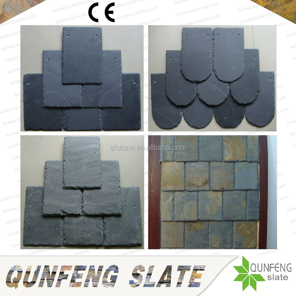 CE Passed Split Surface Popular And Cheap Antacid Nature China Stone Slate Roof Tiles