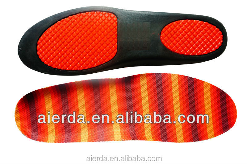 shock absorbing high flexible eva foam insoles for shoes