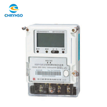 High quality LCD display prepayment smart meter single phase prepayment electric meter